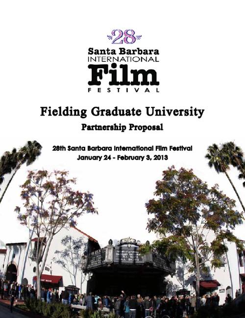 Fielding Graduate University 2013 Proposal