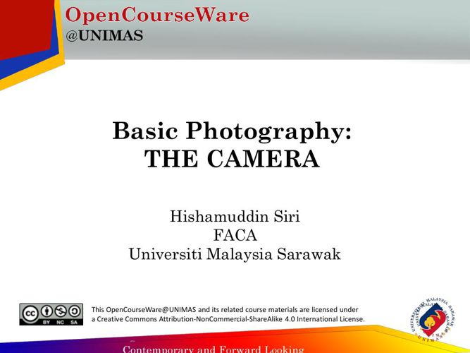 Basic Photo OCW