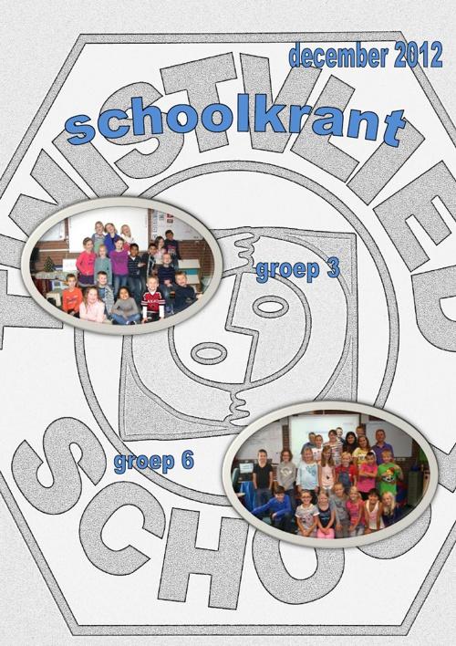 schoolkrant groep 3 en 6 december 2012