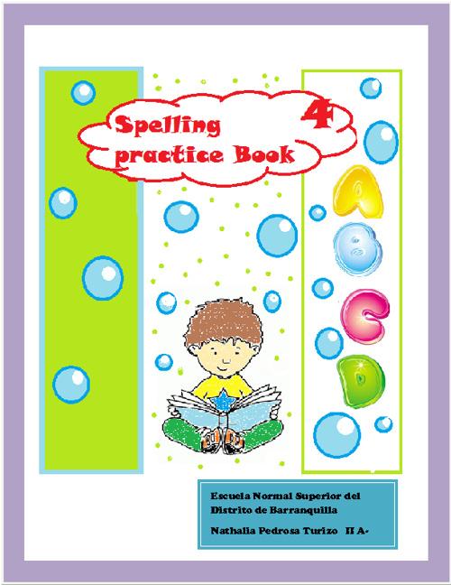 spelling practice book 4