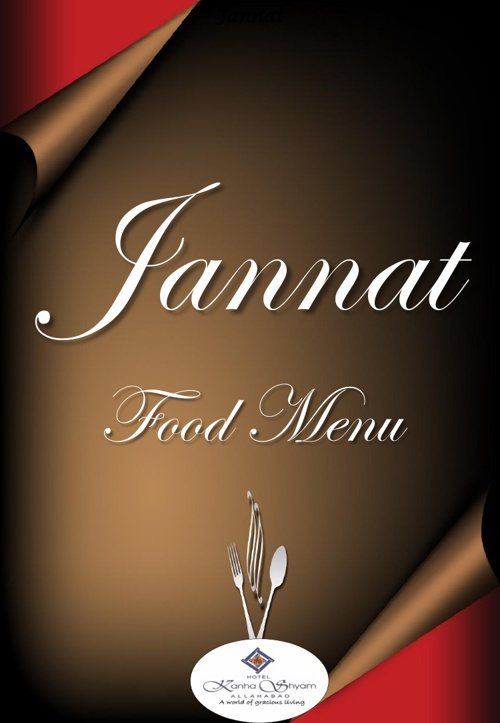 Jannat Food Menu