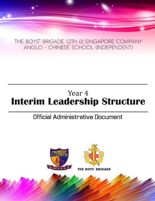 Year 4 Interim Leadership Structure OAD