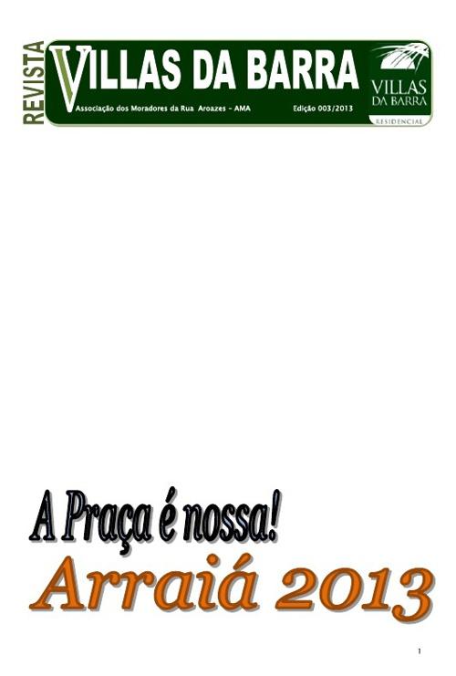 revista 003 edição