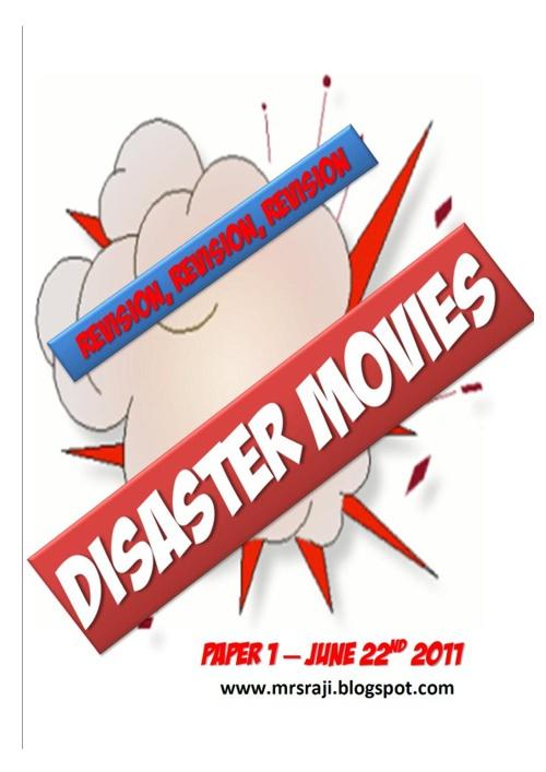 Paper 1: Disaster Films