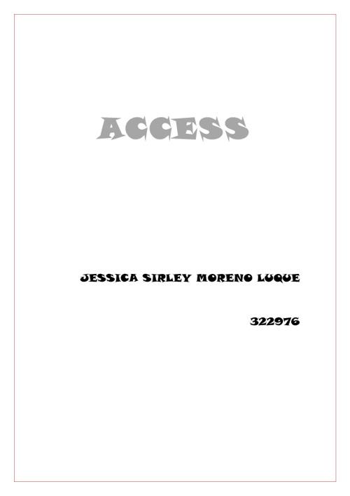 322976 Consulta 1 access JESSICA SIRLEY MORENO LUQUE