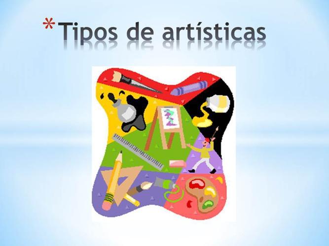 Copy of Tipos de artísticas