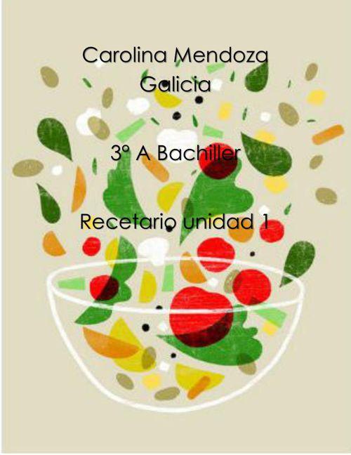 Carolina Mendoza Galicia