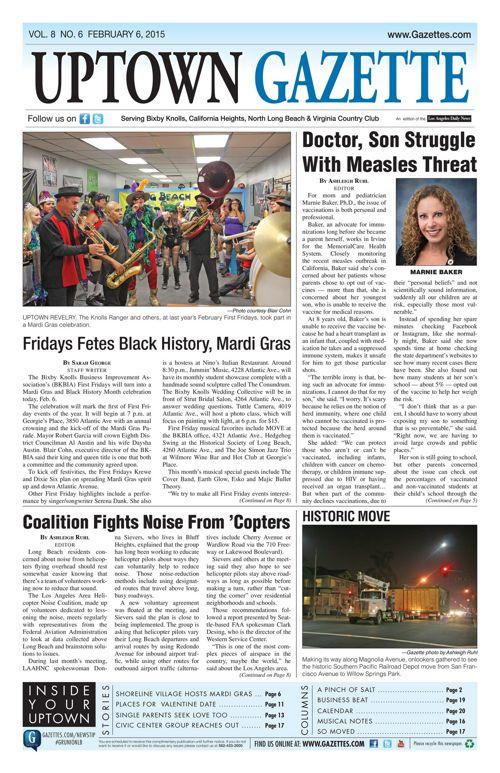 Uptown Gazette  |  February 6, 2015