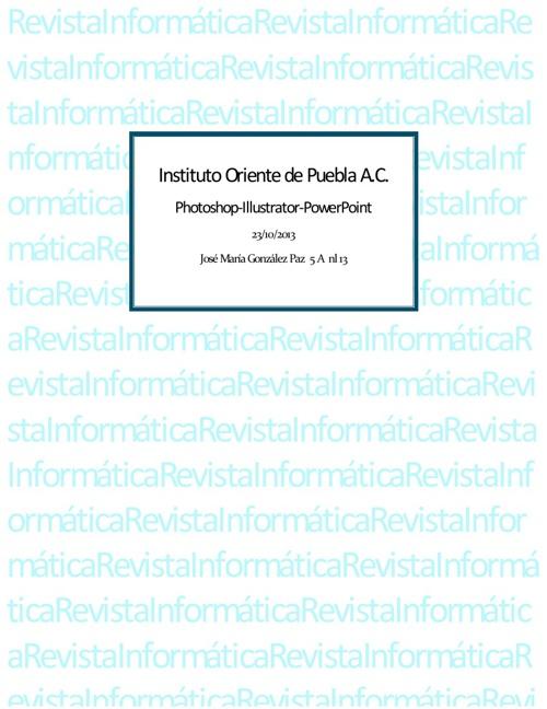 Revista Informática.
