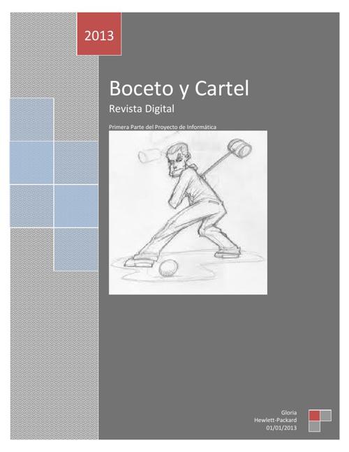 Revista Boceto y Cartel