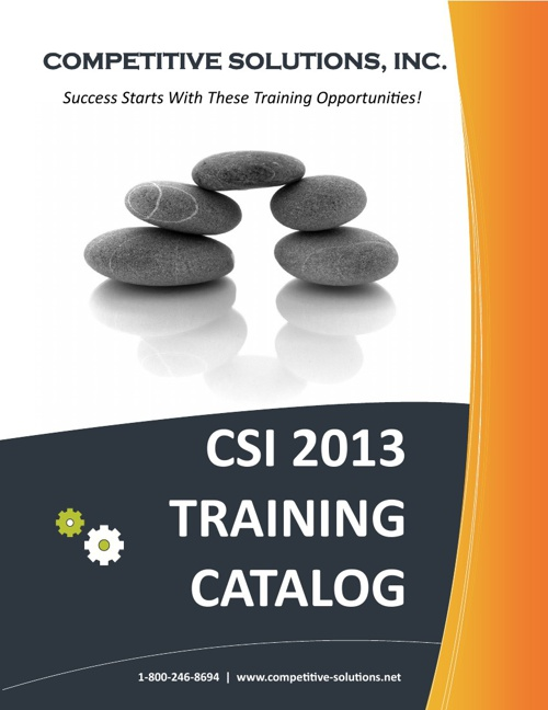 CSI Training Catalog