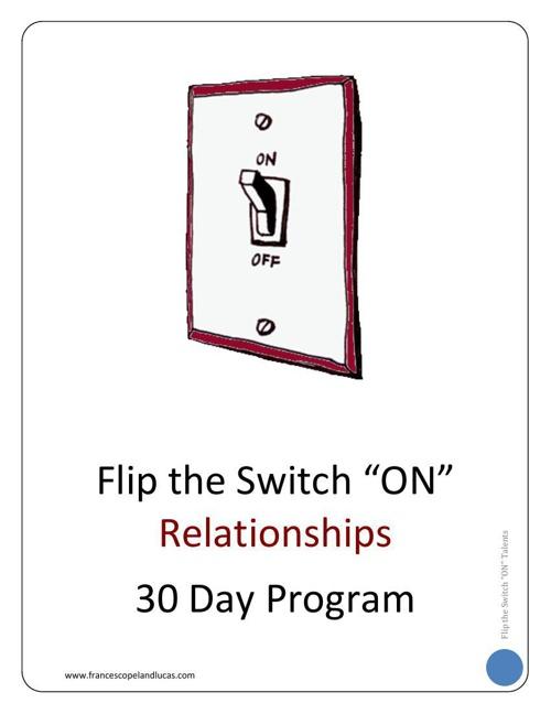 RELATIONSHIPS - 30 Day Program Workbook - CHAPTER 1