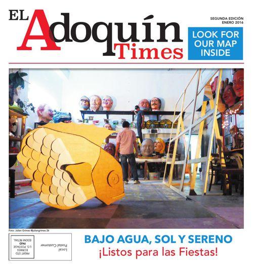El Adoquín Times. Segunda Edición. Enero 2016