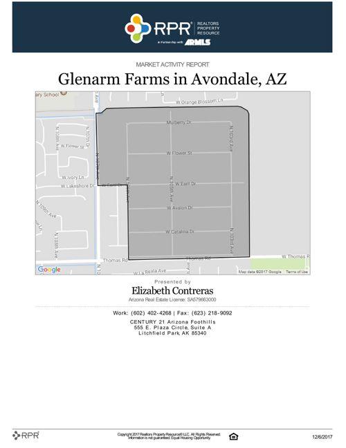 November Glenarm Farms Market Activity