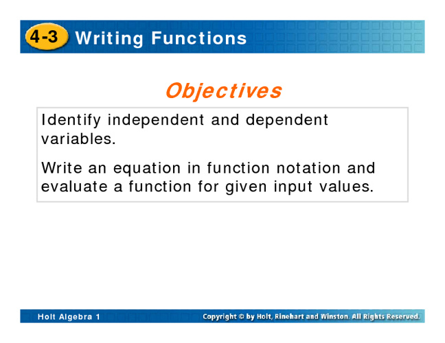 Independent and Dependent Variables Notes