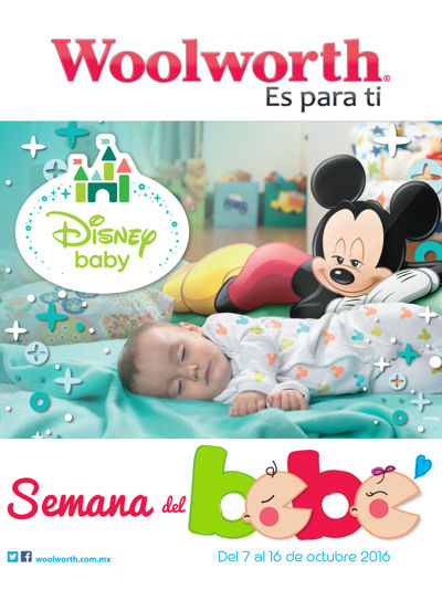 Semana del Bebé - Tiendas Woolworth - Octubre 2016