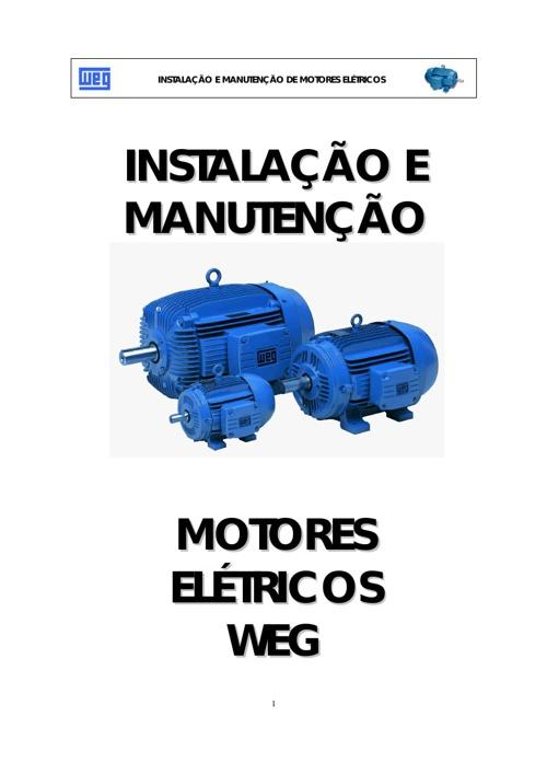 Instalação e Manutenção de Motores Elétricos + Máquinas Elétrica