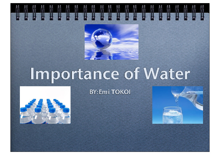 Importance of Water - G7