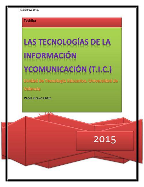 Las TICS (1) PBO.