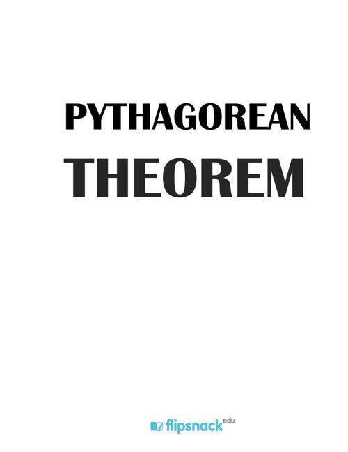 Copy of 1. Pythagorean theorem
