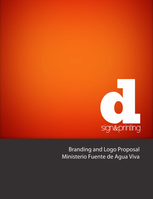 Logo Proposal for Ministerio Fuentes de Agua Viva