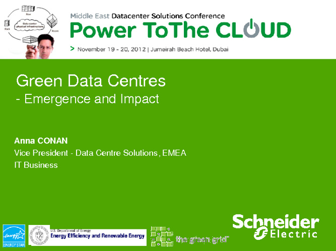 Power to the cloud