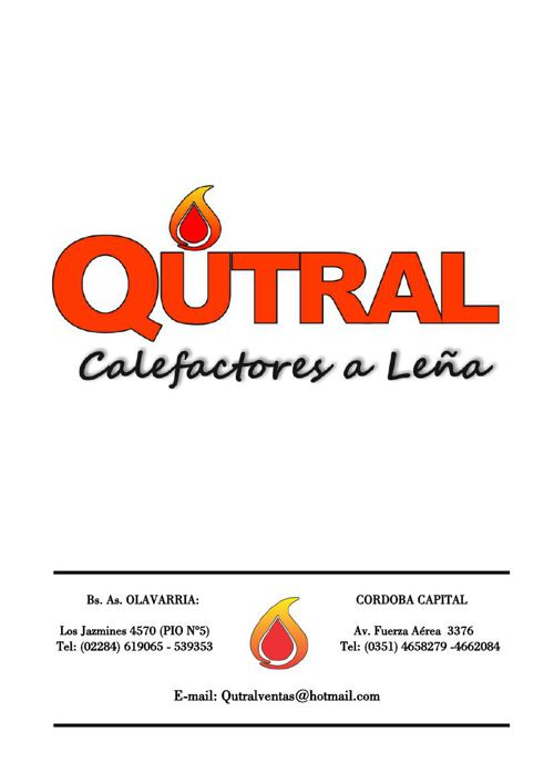 CATALOGO QUTRAL