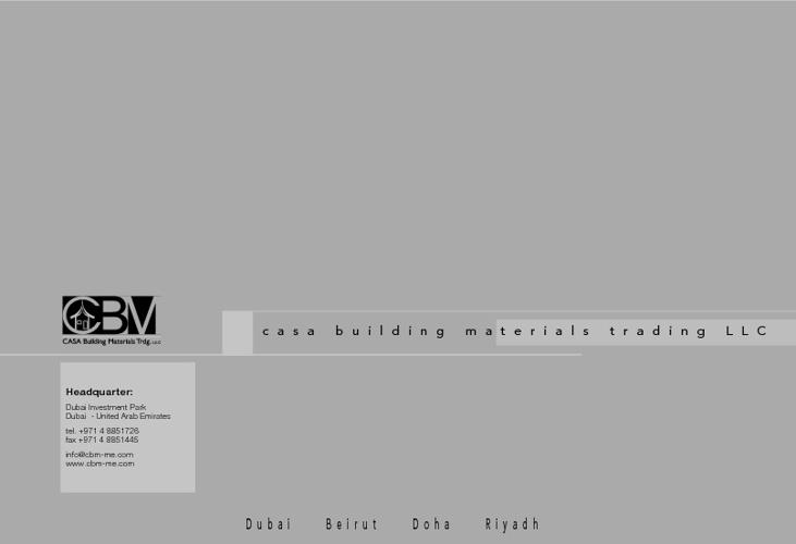 Profile - CASA Building Materials Trading LLC