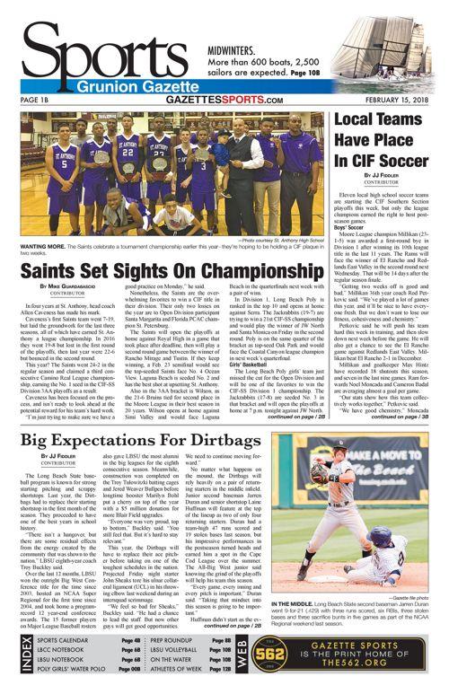Gazette Sports 2-22-18