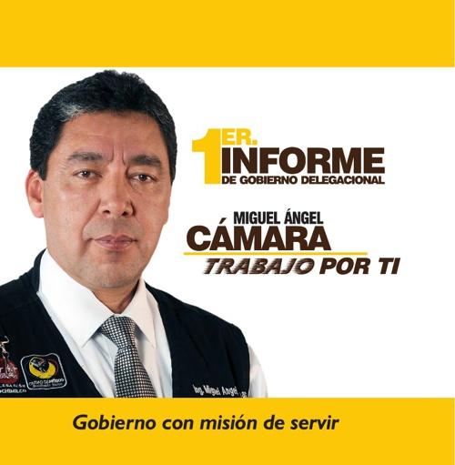 1er. Informe de Gobierno Delegacional - Miguel Ángel Cámara