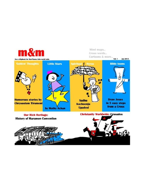 m&m -Jan 2013-FREE e-Flip book for MarThoma kids worldwide