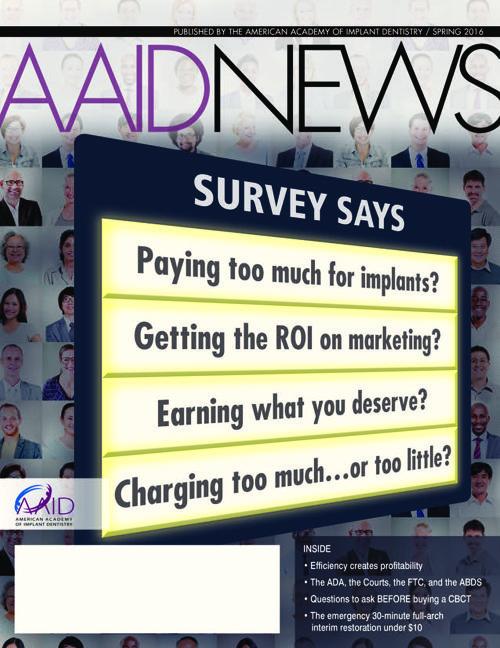 AAID News Spring 2016