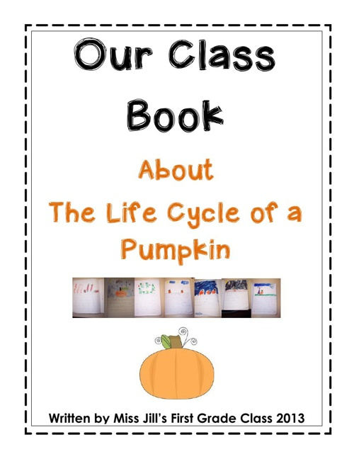 Our class book - ALL ABOUT PUMPKINS