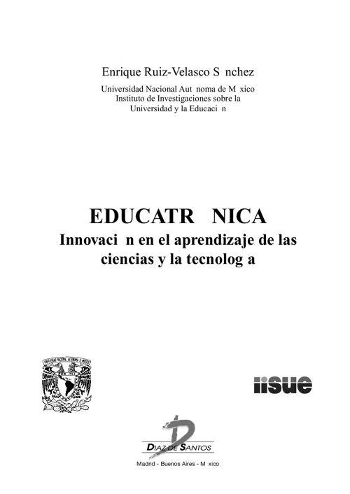 EDUCATRÓNICA - Innovación en el aprendizaje de las ciencias y la