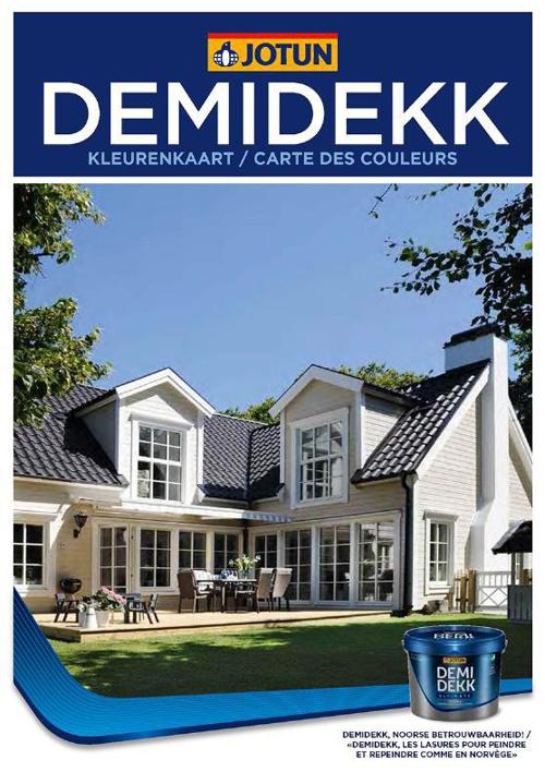 Brochure - Jotun Demidekk 2013