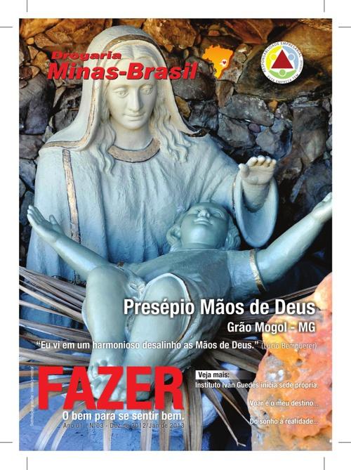 Revista Fazer Presépio mãos de Deus
