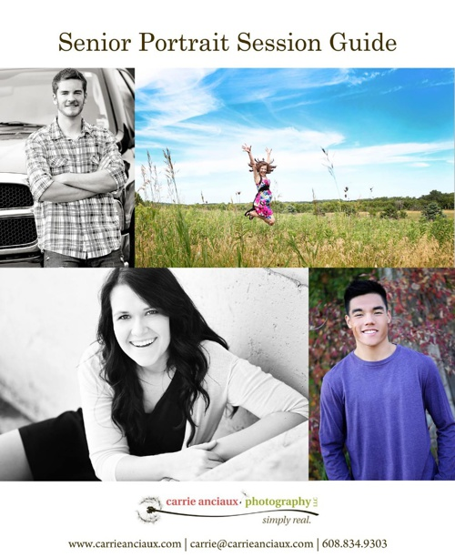 Senior Portrait Session Guide 2013 | Carrie Anciaux Photography