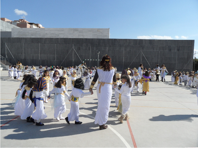 Ancient Egypt Carnival at Gines Morata School