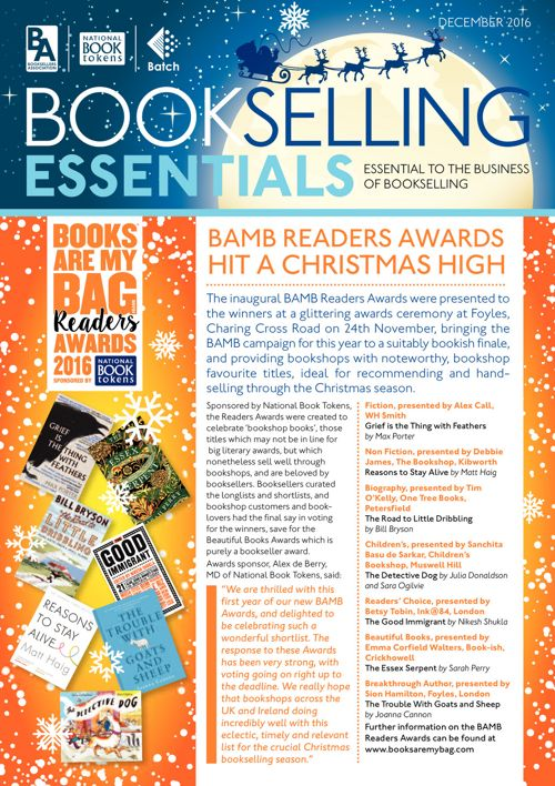 Bookselling Essentials - December 2016