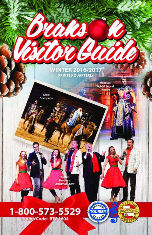 Branson Tourism Center Branson Visitor Guide 2016 Winter