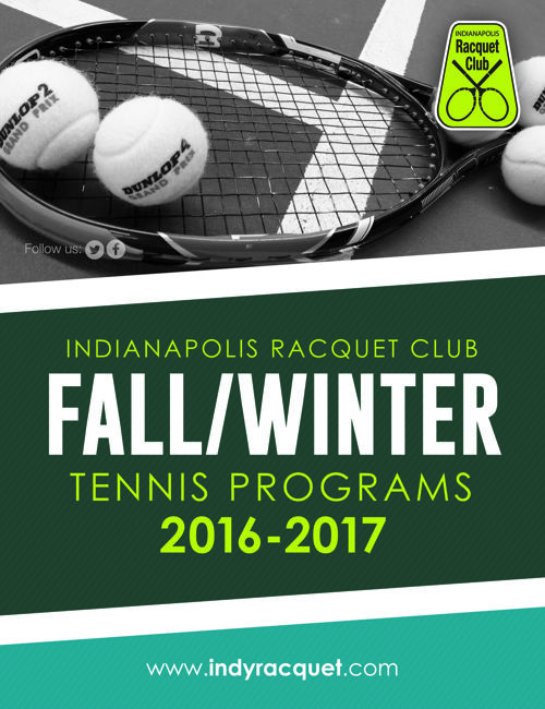 IRC Fall/Winter 2016-2017 Tennis Programs