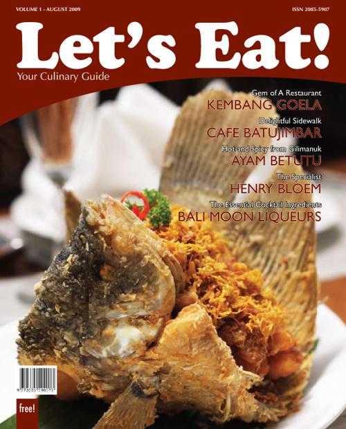 Let's Eat! magazine vol-1