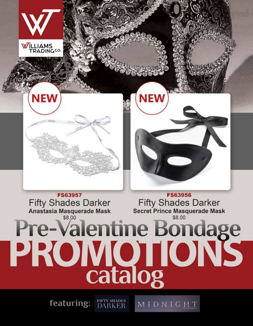Pre-Valentine Bondage Promotions - Williams Trading Co.