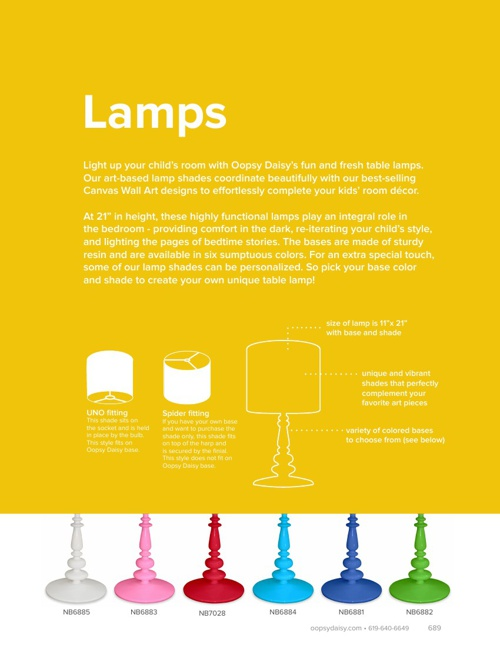 New Lamps - Spring 2013
