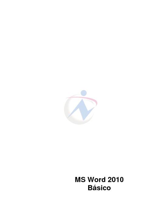 Apostila de Microsoft Word