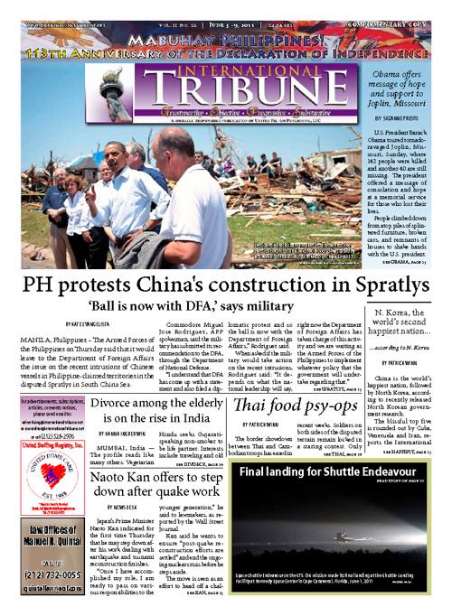 International Tribune Vol. ii