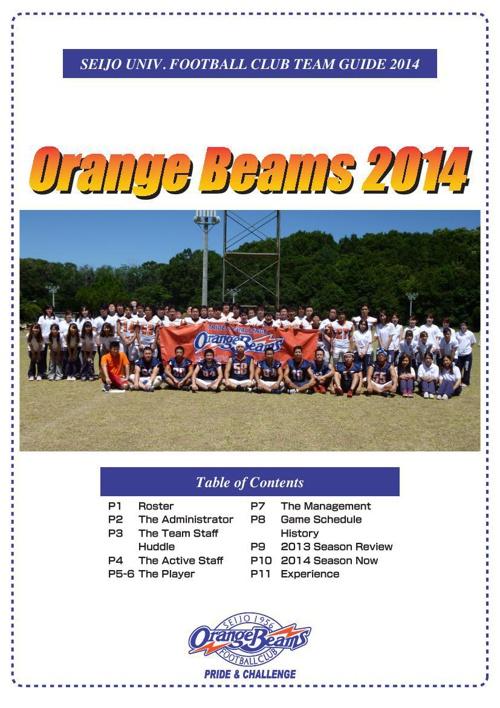 Orange Beams 2014