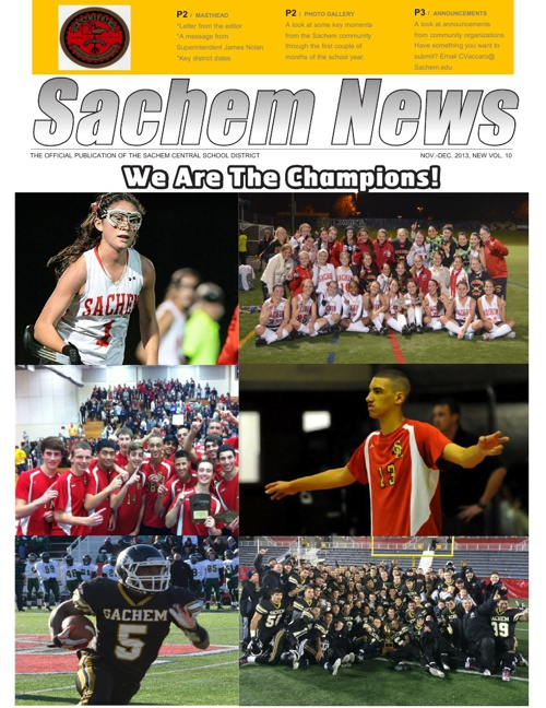 Sachem News: Nov.-Dec. 2013
