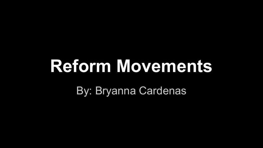 Reform Book