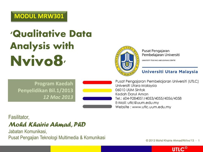 Qualitative Data Analysis with Nvivo8